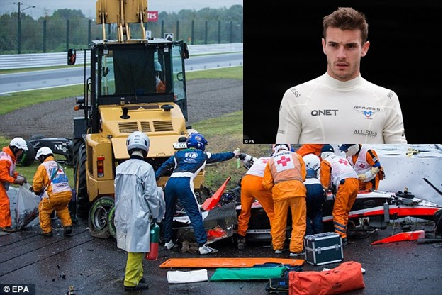 Formula 1 driver jules bianchi passes away, first f1 death since.