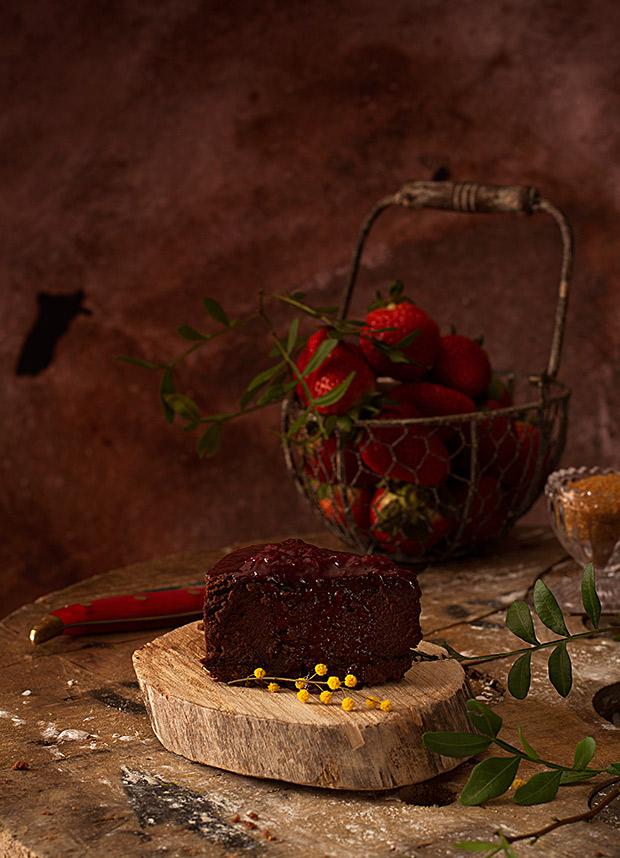Cheesecake perfecto de chocolate. Receta infalible