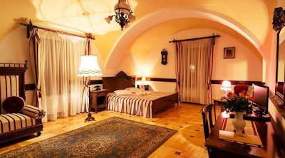 imagini camere Castelul HALLER OGRA din TG MURES