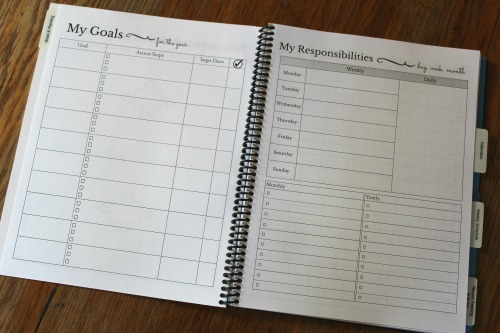 A Plan In Place Homeschool planner review and giveaway