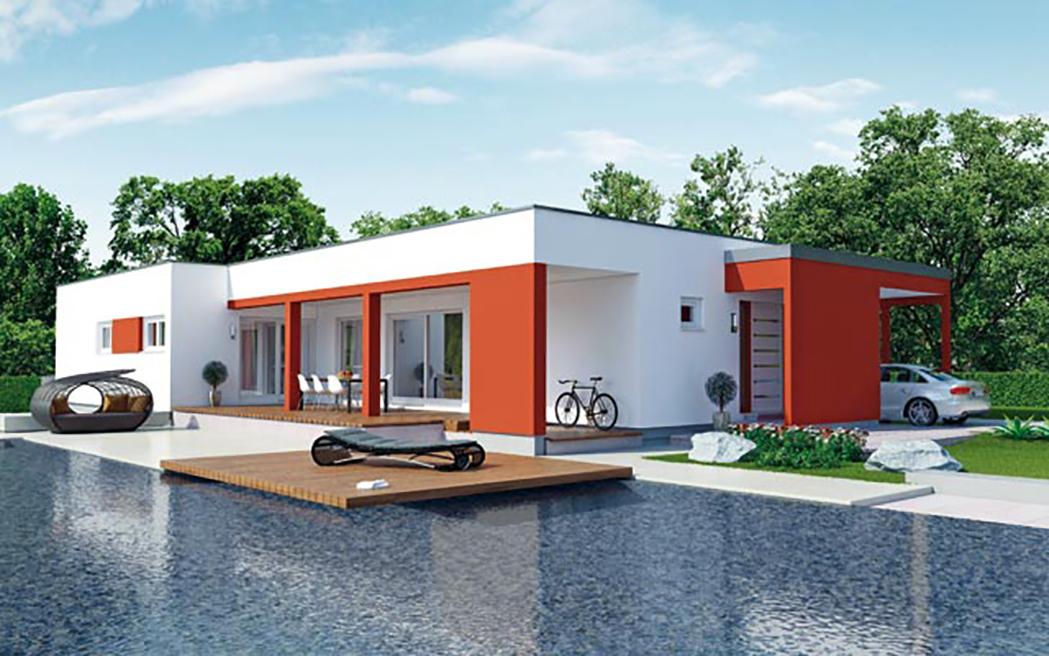 casa prefabricada anti sismica formentera casas prefabricadas mundicasas. Black Bedroom Furniture Sets. Home Design Ideas