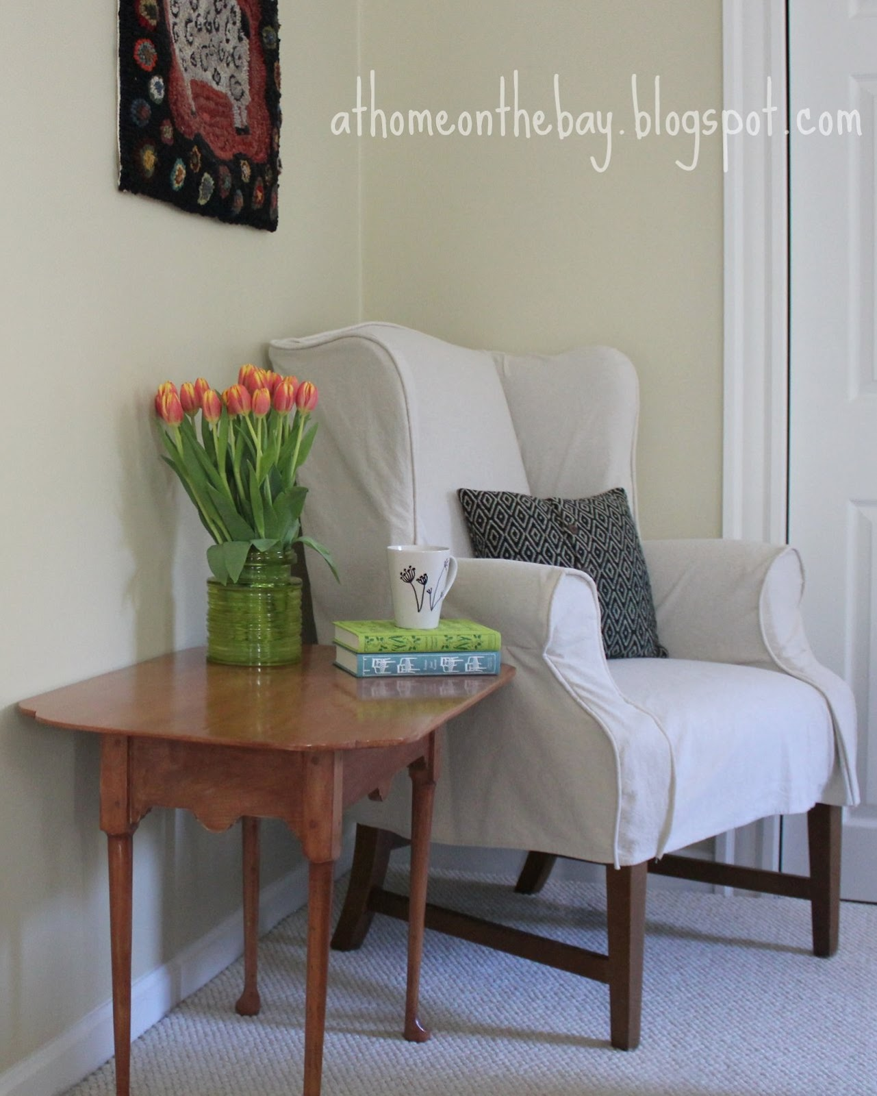 how to make slipcover for wingback chair diy exercise ball base wing