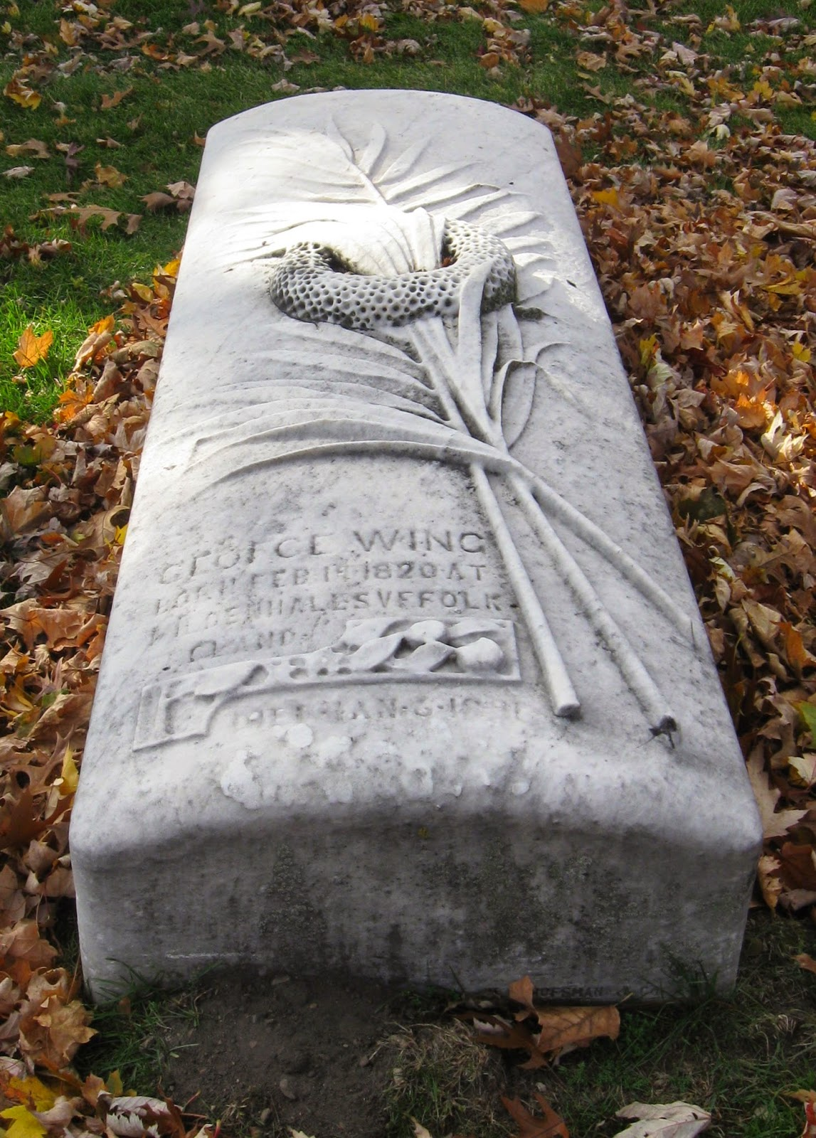 Under Every Tombstone An Englishman Comes To Chicago