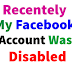 Facebook Account Disabled Updated 2019