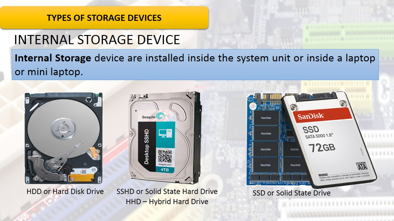 why a hard disk is called a random access storage device Random-access memory  with other direct-access data storage media such as hard disks,  allowing it to act as a much faster hard drive that is called a ram disk .