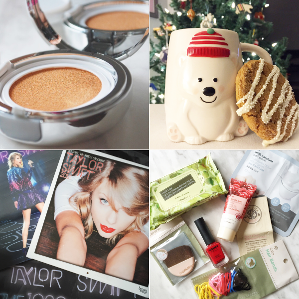 bbloggers, bbloggersca, beauty blogger, canada, makeup, skincare, amorepacific cushion, polar bear mug, homesense, taylor swift, christmas presents, thefaceshop advent