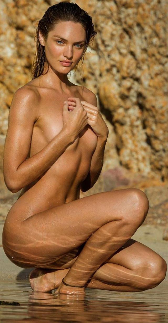 Candice Swanepoel Otra Vez Desnuda Charlie Riina En Topless Para