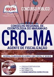 Baixar Apostila Concurso CRO MA 2018 PDF