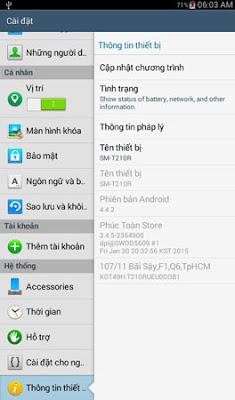 Rom samsung T210r Tiếng Việt alt