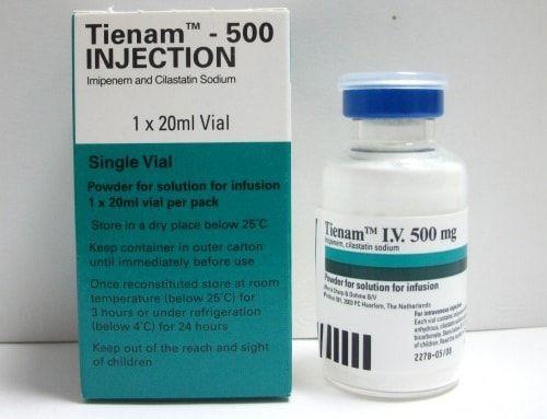 سعر ودواعى إستعمال دواء تينام Tienam حقن مضاد حيوى