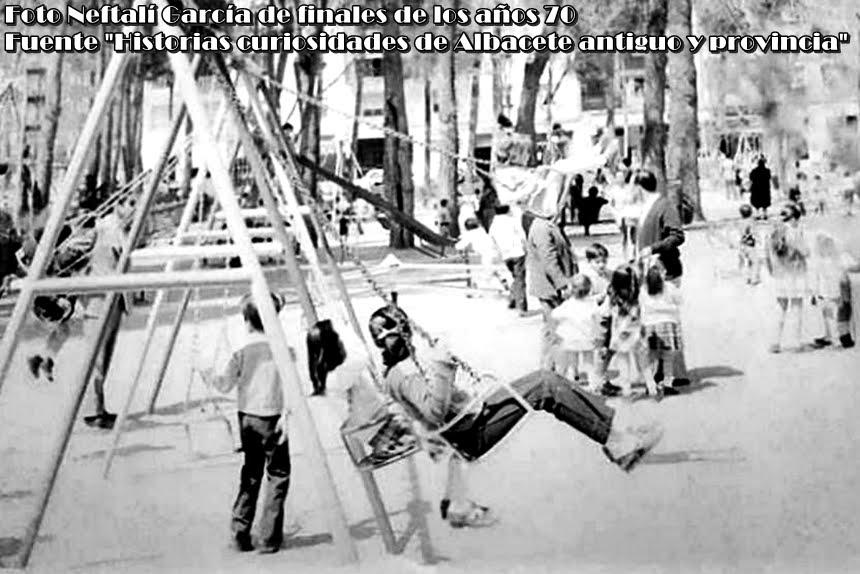 FOTOS CON HISTORIA: RECINTO INFANTIL DEL PARQUE DE LOS MÁRTIRES