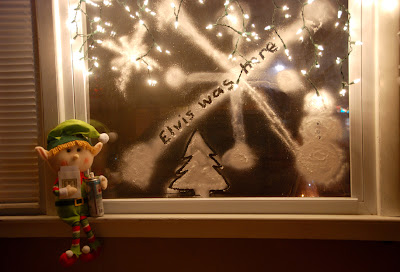 elf on the shelf advent bible study snow window