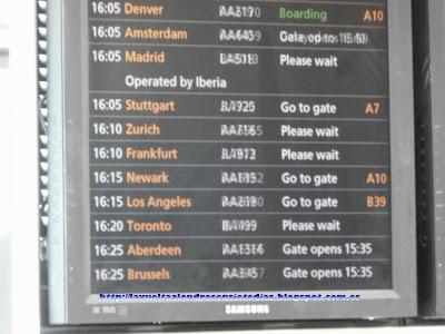 Retraso del vuelo de Iberia en el aeropuerto de Heathrow