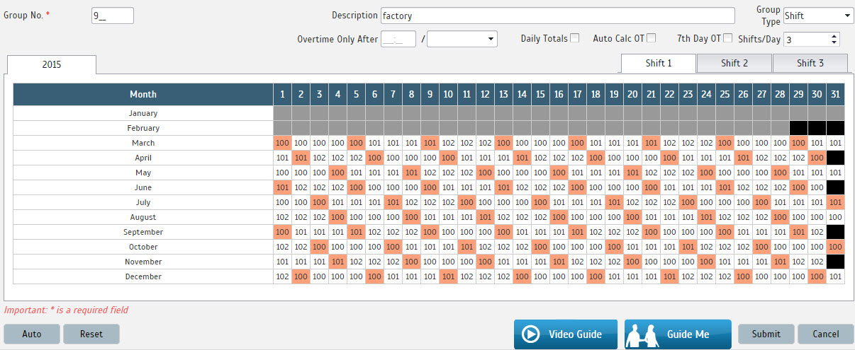 3 shift schedule template - scheduling in workforce made easy by fingertec fingertec