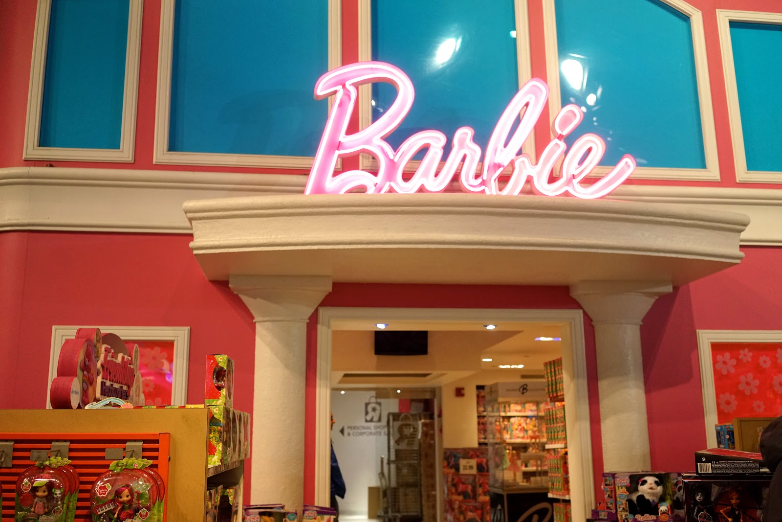 barbie store new york