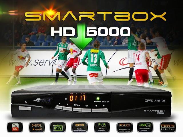 TRANSFORMAÇÃO SMARTBOX HD 5000 EM MIUIBOX OMEGA OUTUBRO 2016