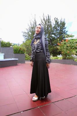 model hijab untuk ijab qobul kemeja flannel cewek Hijab manis