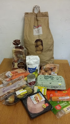 How (not) to shop for a frugal food challenge