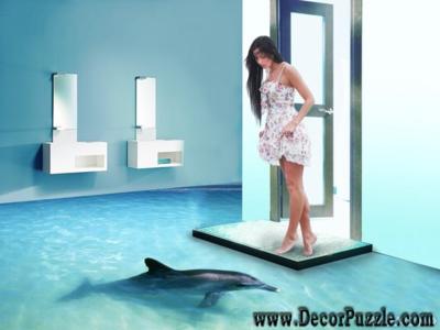3d bathroom floor murals and designs, self-leveling floors for bathroom