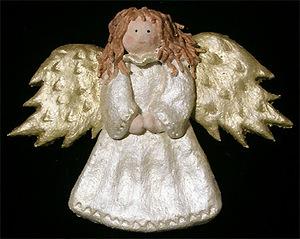 """""""Ангел с колокольчиком"""" из соленого теста (МК), как сделать ангела на Рождество своими руками, мастер-класс с фото, ангелы красивоhttp://handmade.parafraz.space/«Ангел с колокольчиком» из соленого теста (МК), Ангелы вдохновения — фото-идеи лепки, Ёлочки из сахарно-желатиновой кондитерской мастики, солёное тесто для лепки рецепт, Задорные ангелы из соленого теста, Как упаковать мелкие сувениры в прозрачный целлофан (МК), солёное тесто для лепки поделки, Снеговик в шубке из мастики, Соленые Ангелы: лепим из соленого теста (МК), Тыковки из кондитерской мастики или помадки, Ангел с колокольчиком и другие... — Мастерим из соленого теста, как приготовить соленое тесто для лепки, что сделать ангелов из соленого теста, что можно слепить из соленого теста, поделки их соленого теста, фигурки мука-соль, как лепить из соленого теста, солёное тесто для поделок состав рецепт, поделки из соленого теста, как замесить солёное тесто для лепки фигурок, как сделать солёное тесто для поделок в домашних условиях, тесто для лепки что можно слепить, фото идеи их соленого теста, солёное тесто рецепт для лепки для детей, поделки из солёного теста своими руками, идеи лепки ангелов, как вылепить ангела, как слепить ангела из соленого теста, ангелы из соленого теста на день влюбленных, ангелы из соленого теста на Рождество, прикольные ангелы из соленого теста, подарки из соленого теста,"""