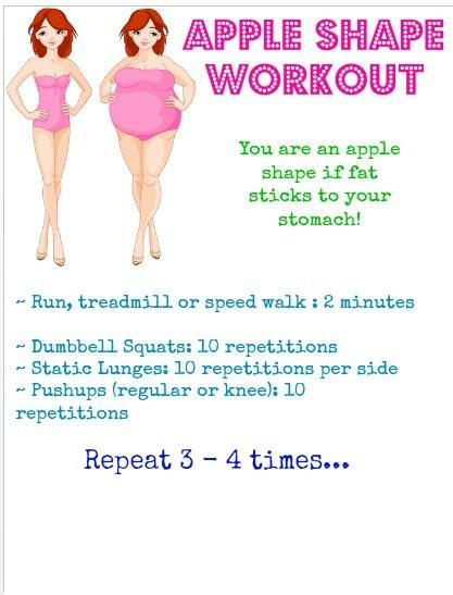 Apple Shape Workout