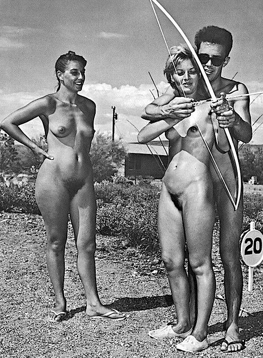 Classic nudist pics