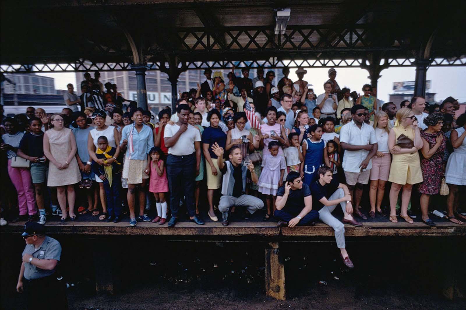 Estación del norte de Filadelfia el 8 de junio de 1968.