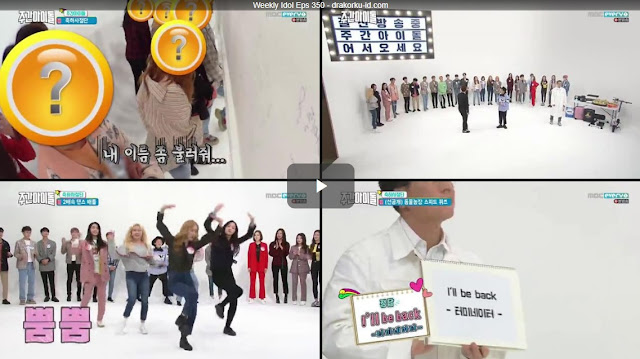 Weekly Idol Episode 350 Subtitle Indonesia