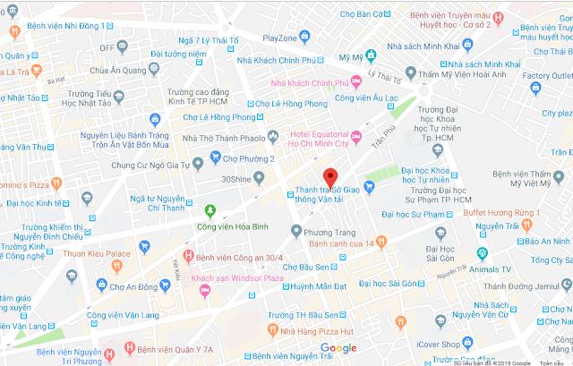 Bán nhà Mặt tiền đường Trần Phú phường 4 Quận 5, DT 4,6m x 16m giá rẻ