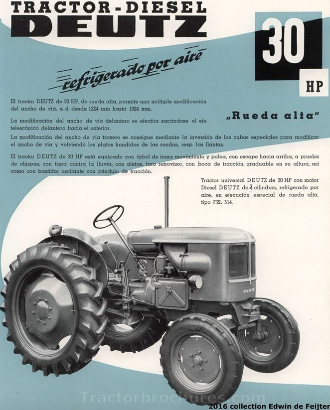 Pesados Argentinos: Deutz F2L514