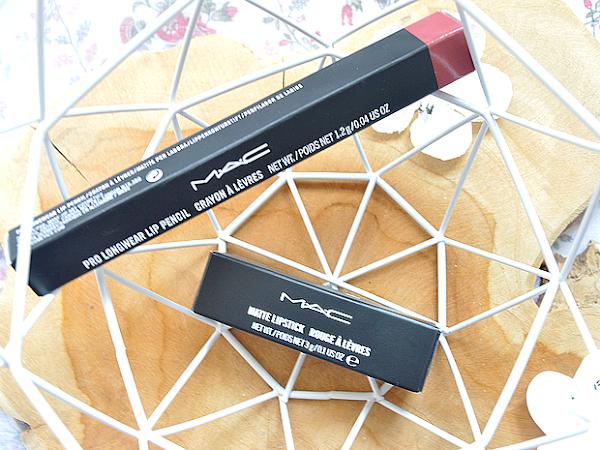 MAC lipstick Mehr & lipliner In Control | New In