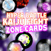 New Zone Cards for Hyper Battle Kaiju Fight Game