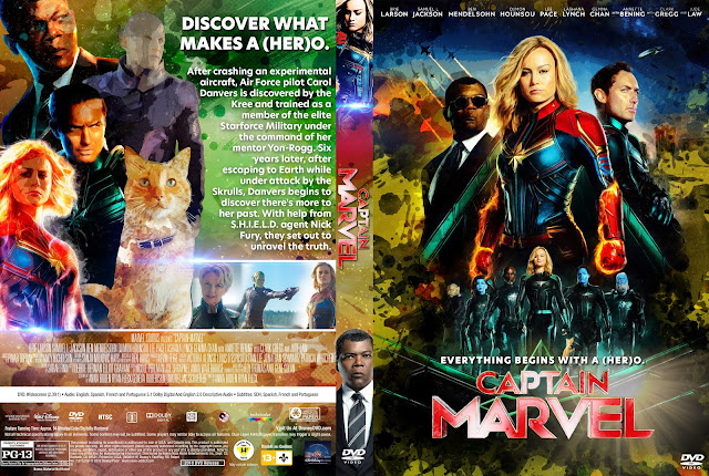 Captain Marvel DVD Cover