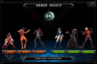 Juego The King of Fighters Android