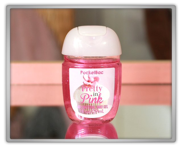 Bath and Body Works Summer Haul Review beauty girly cupcake pink pocketbac anti bacterial hand gel pretty in pink beauty blog blogger