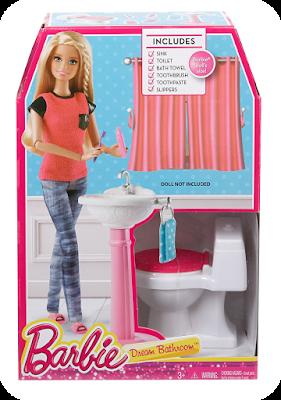 Fashion Doll Playscale Bathrooms