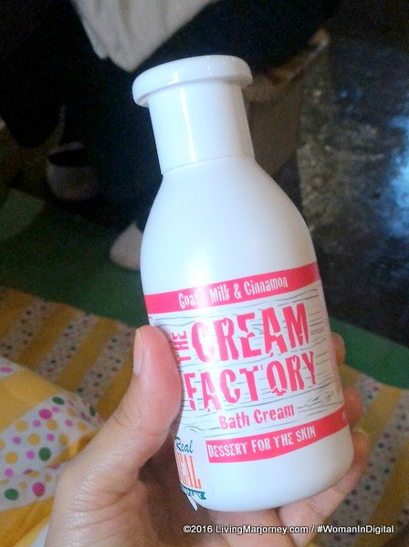 The Cream Factory Goat Milk & Cinnamon