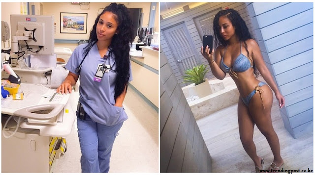 world's hottest nurse - Kaicyre Palmers