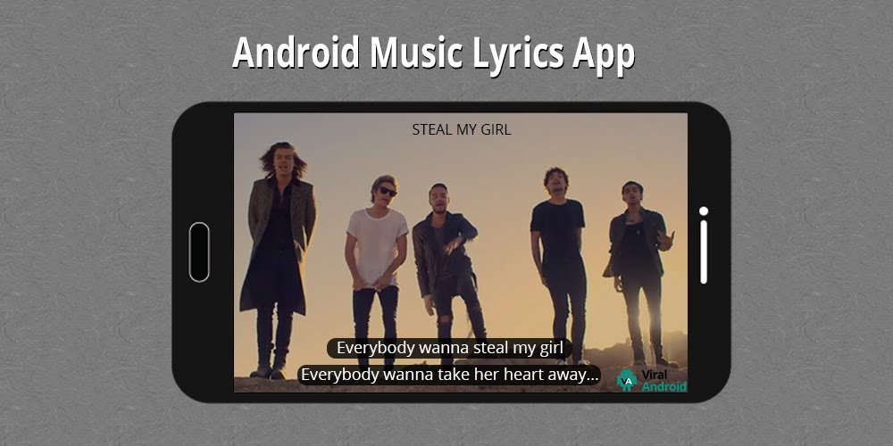 how to get lyrics on android music