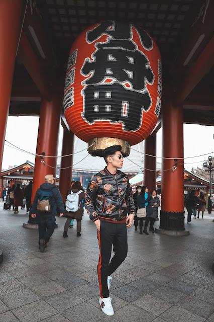Leo Chan at Senso-ji Temple