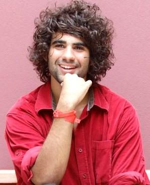 Foto de Stefano Salvini con abundante cabello