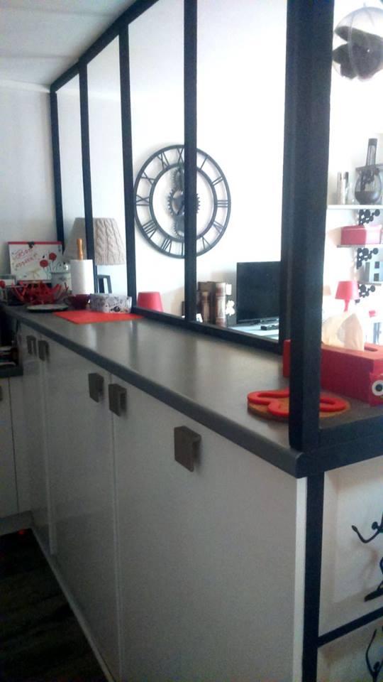 une verri re trompe l 39 oeil pour 25 euros les astuces diy d 39 une bricolette fauch e. Black Bedroom Furniture Sets. Home Design Ideas