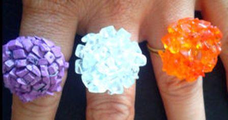 0 cara membuat cincin bunga batu