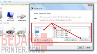 Cara Instal Printer Canon Tanpa CD Driver 100% Work