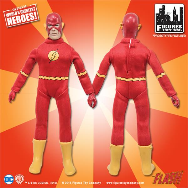 SUPER POWERS Series 3; THE  FLASH 8 INCH FIGURE Loose New In Polybag ftc