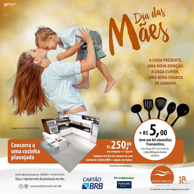 Ações dos Shoppings de Brasília para o Dia das Mães