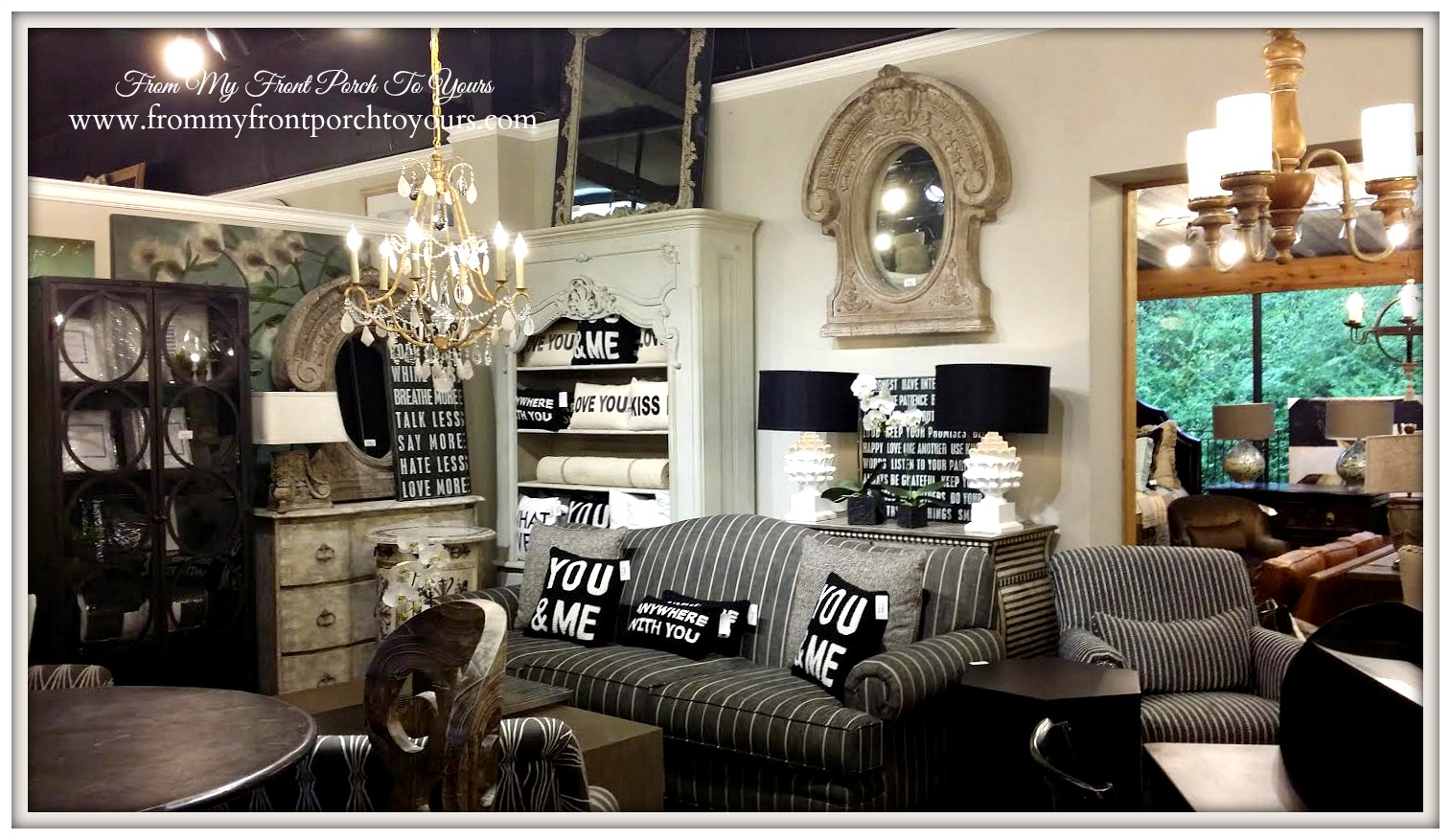 Laurie's Home Furnishings- From My Front Porch To Yours