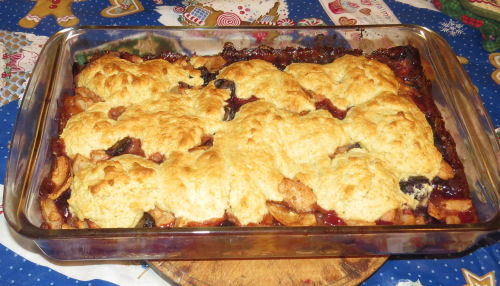 winter cobbler