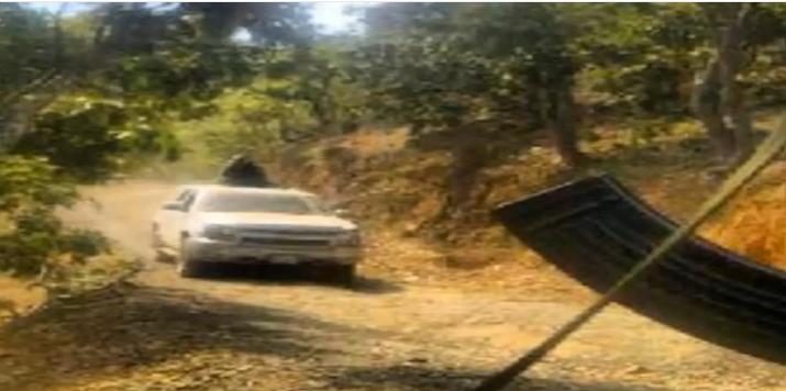 """VIDEO; Así son los narcocampamentos de """"La Mochomera"""" en la sierra"""