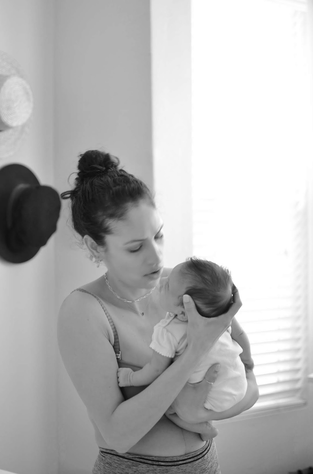 Classic Nursing Bra, ThirdLove, newborn baby girl